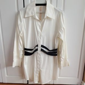 Bailey 44 white blouse